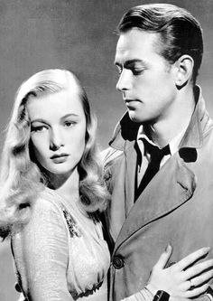 Alan Ladd's most regular co-star was Veronica Lake. They made eight films together.