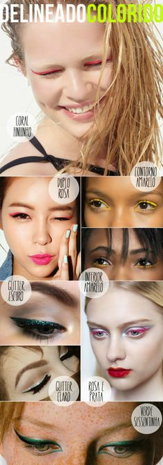 Ricota Não Derrete - Blog de moda, beleza, celebridades e conversa mole delineador colorido eyeliner