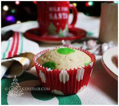Cupcake Rehab - Christmas polka dot cupcakes