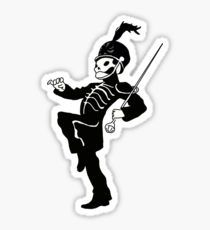 welcome to the black parade - skeleton - my chemical romance Sticker