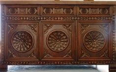 Spanish Colonial Hand Carved and Gorgeous.