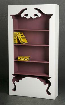 Jaren Goh Vintage Shelf. Might be an inspiration for my room~