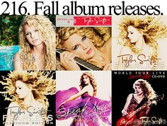 little taylor swift thing & now red in october❤