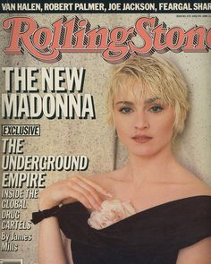 "249 vind-ik-leuks, 3 reacties - Madonna Scrapbook (@madonnascrapbook) op Instagram: '""The New Madonna: Can't Stop the Girl"" 1986 @RollingStone magazine. #Madonna photographed by…'"