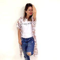 Camisetas y kimonos con diseños exclusivos by Saison www.saison.es