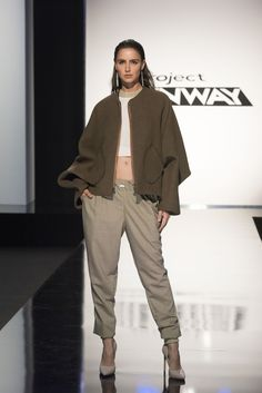 Project Runway - Season 15 - Urban Jungle Challenge - Nathalia's look - I would wear this NOW