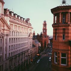 A shot of Oxford Street looking down towards the Palace Theatre, one of Manchester's greatest venues. This photo originally appeared on the @WeAreMCR Instagram account and was taken by @paddycb.