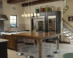 Eclectic Kitchen Islands Design, Pictures, Remodel, Decor and Ideas - page 65