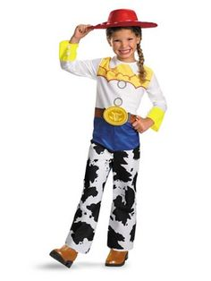 2018 Toy Story Jessie Classic Girls Child Kids Youth Disney Costume + Coolie and more Disney Costumes for Girls, Girl's Halloween Costumes for Jessie Costumes, Toy Story Costumes, Toddler Costumes, Disney Costumes, Girl Costumes, Toddler Outfits, Toddler Girls, Costume Ideas, Pixar Costume