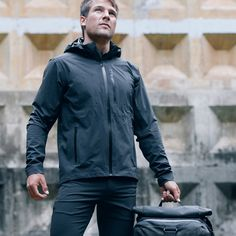 The Eiger // Limited Edition // Waterproof Field Jacket // the