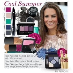 Makeup suggestions for the Cool Summer type. Which type are you? Post in the comments below.  Check this link for more information: http://www.cardiganempire.co...: