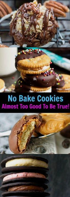 No Bake Cookies Almost Too Good To Be True!