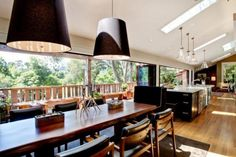 Beautiful Mill Valley retreat with a treehouse feel   #kitchenmusthaves #beautifulkitchens