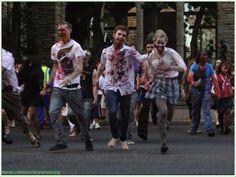 In Pictures: The 2013 Cape Town Zombie Walk, Part 2 Zombie Walk, Cape Town, Zombies, Mysterious, Walking, Culture, Pictures, Photos, Walks