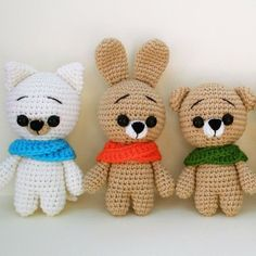Amigurumi free crochet animal patterns