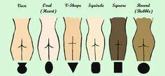 12 realistic woman body shape chart by ~NinaSquirrelly on deviantART