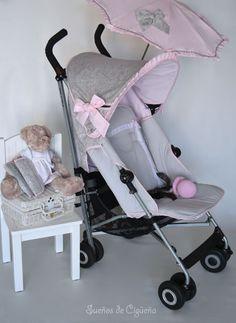 Maclaren personalizada. Sueños de Cigueña ... BLOG ... Baby Strollers, Princess, Children, Ideas, Baby Buggy, Baby Things, Cases, Pram Sets, Baby Prams