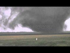 Close Up Pilger Tornado - Deadly Twin Tornadoes in Pilger Nebraska?