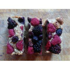 Banana Milk, Spelt Flour, Oat Bars, Ground Almonds, Loaf Pan, Mixed Berries, Parchment Paper, Blackberries, Healthy Baking