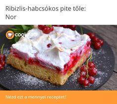Ribizlis-habcsókos pite Cheesecake, Food, Cheesecakes, Essen, Meals, Yemek, Cherry Cheesecake Shooters, Eten