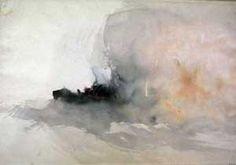 jmw turner, fire at sea