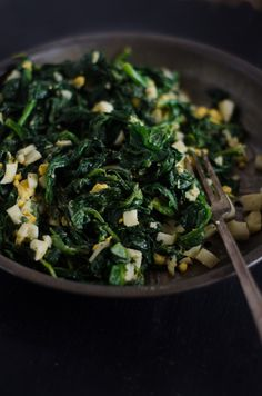 SCD Buttered Spinach