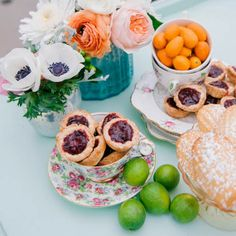 Romantic Bridal Tea Party