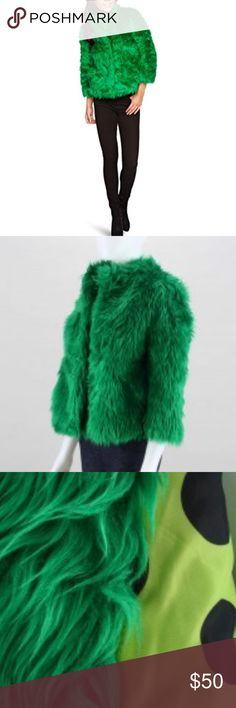 Iron Fist Rolling Stone Coat Playful and chic Vegan faux fur coat , the ultimate outerwear statement piece ! 🔥Last one in stock . 85% acrylic 15% polyester . All items come freshly Steam Ironed (in this case brushed ;) wrapped in tissue paper from a smoke-free pet free home💕 Iron Fist Jackets & Coats