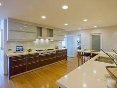 Modern Multi Million Mansion kitchen