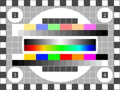 Free vector graphic: Tv Test Pattern, Test Picture - Free Image on Pixabay - 146649