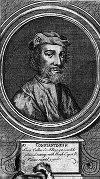 Constantine, son of Cuilén (Mediaeval Gaelic: Causantín mac Cuiléin; Modern Gaelic: Còiseam mac Chailein), known in most modern regnal lists as Constantine III,[1] (before 971–997) was king of Scots from 995 to 997.
