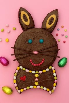 Bunny cake for Easter Kid Desserts, Creative Desserts, Party Desserts, Wedding Desserts, Activities For Kids, Birthday Cake, Handmade, Food, Grands Parents