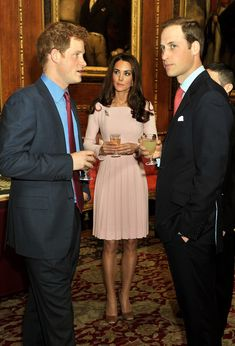 Catherine, William & Harry
