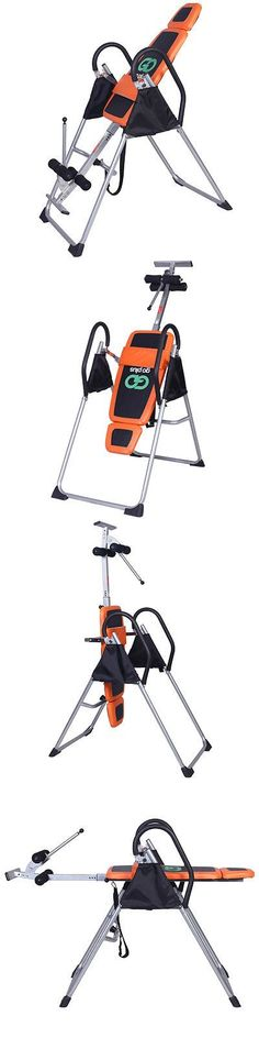 Inversion Tables 112954: Foldable 2016 Premium Gravity Inversion Table Back Therapy Fitness Reflexology BUY IT NOW ONLY: $102.99