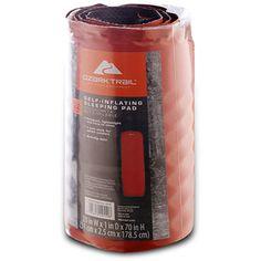 Ozark Trail Self-Inflating Sleeping Pad, Burnt Orange Wal-mart $34