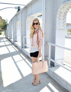 how to mix and match expensive clothes with bargain pieces {great tips}