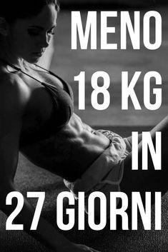 come far cadere 12 chili velocemente
