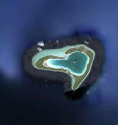 Heart Island #Love #Heart #Nature www.facebook.com/EssencetoSuccess