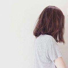 Короткие волосы тумблер