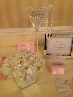 Bridal Shower Games for Tiffany & Co. Themed Bridal Shower - Guess How Many Pearls!