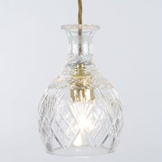 Heals | Lee Broom Crystal Decanterlight Pendant Light - Pendants - Pendants & Chandeliers - Lighting