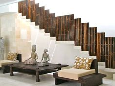 balinese home decoration with wall bamboo and wooden handcrafted : Balinese Home Decoration. balinese decorations,balinese home decor ideas,balinese room decor,balinese room ideas,house decoration ideas Bamboo Bamboo, Bamboo Sofa, Bamboo Texture, Bamboo Wall, Bamboo Furniture, Bamboo Ideas, Stick Decor, Stick Art, Design Your Home