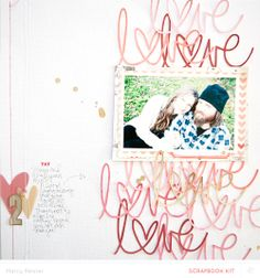 Love - SUGAR RUSH - @Studio_Calico February kits