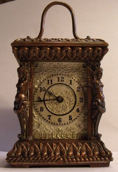 Ansonia Carriage Clock