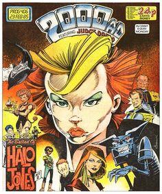 Halo Jones Cover 2000AD Prog 406 (1985), artist: Ian Gibson