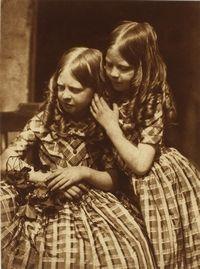 Les demoiselles Grierson, 1845  David Octavius Hill