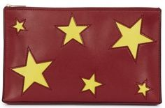 What to Wear When … you save the planet  Stella McCartney star clutch, Harvey Nichols