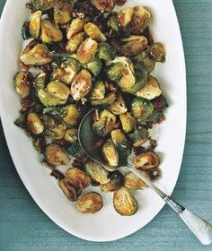 Roasted Brussels Sprouts With Pecans recipe
