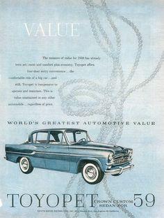 1959 Toyopet Crown (USA)