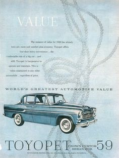 1959 Toyopet Crown (USA)